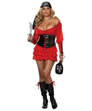 Pirate Wench Adult Costume plus size