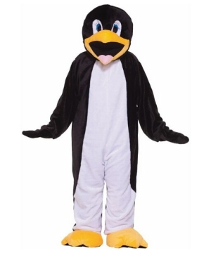 Plush Penguin Mascot Adult Costume
