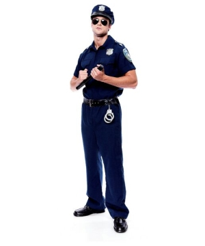 Police Officer Costume - Adult Costume