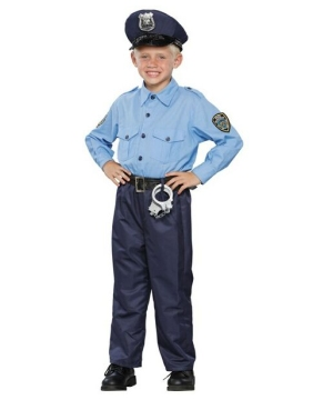 policeman boys costume
