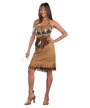 Pow Wow Princess Womens Costume