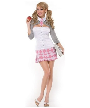 Prep School Girl Women Costume