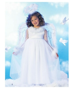 Pretty Angel Girls Costume