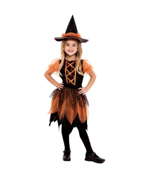 Pumpkin Patch Witch Kids Costume