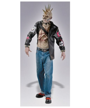 Punk Zombie Mens Costume