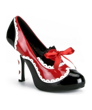 Queen of Dark Hearts Heels Adult Shoes