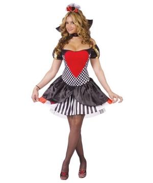 Queen of Hearts Sexy Women Costume