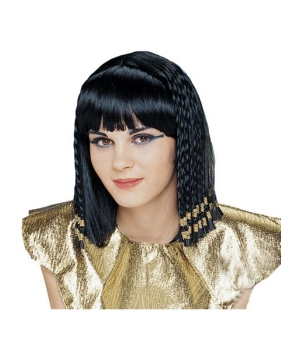 Queen of the Nile Adult Egyptian Wig deluxe