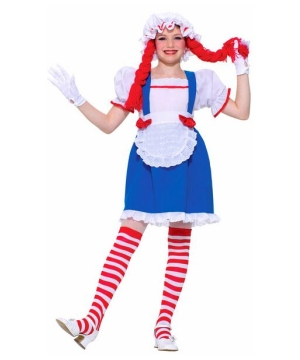 Rag Doll Beauty Girls Costume