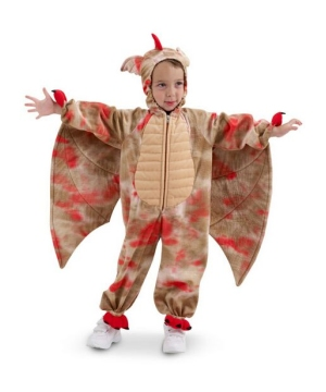 Red Dragon Kids Costume