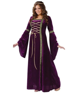 Renaissance Lady Adult plus size Costume