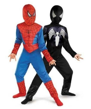 Spiderman Reversible Kids Costume