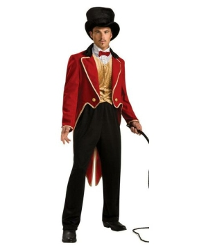 Ring Master Costume - Adult Costume - deluxe