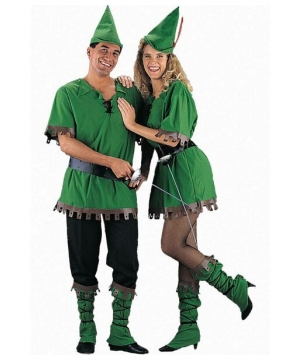 Robin Hood Couples Adult Costume