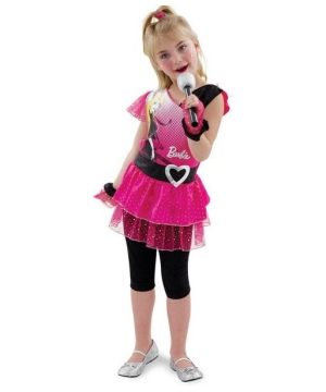 Rockin Diva Barbie Kids Costume