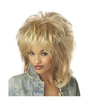 Blonde Rocking Soul Adult Wig