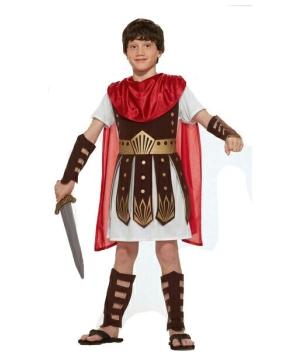 Kids Roman Warrior Boys Costume