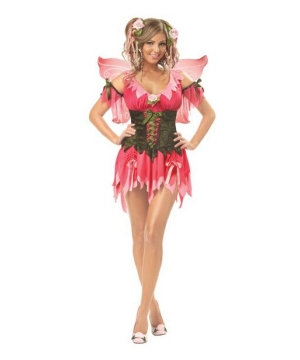 Rose Fairy Costume - Adult Costume deluxe