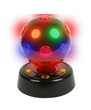 Rotating Disco Ball Light Halloween Decoration