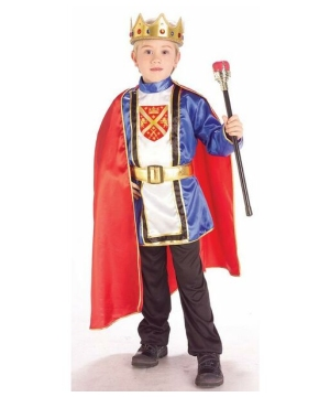 Royal King Kids Costume