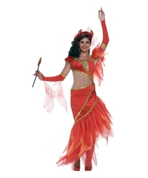 Salsa Devil Costume - Adult Costume