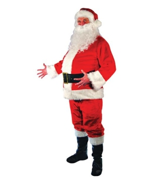 Santa Suit Costume - Men Christmas Costume