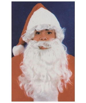 Santa Wig and Beard Kids Accessory