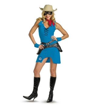 Female Lone Ranger Costume - Adult Costume