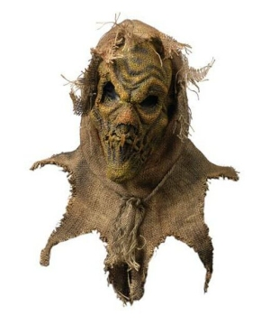 Scarecrow Mask - Adult Mask - Natural