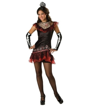Senorita Bone-ita Teen Costume