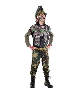 Sergeant Splatter Kids Costume