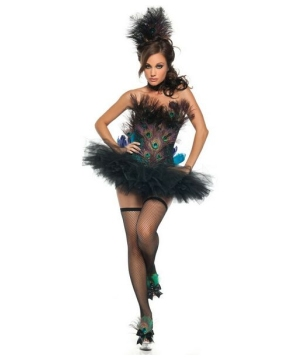 Sexy Peacock Costume - Adult Costume deluxe