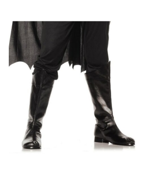 Shazam Black Boots - Adult Shoes