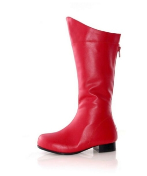 Shazam Red Boots - Kids Shoes