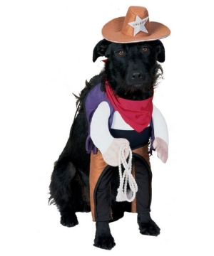 Sheriff Pet Costume