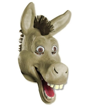 Shrek Forever After Donkey Men Mask Accessory