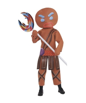 Shrek Gingerbread Warrior Man Costume - Adult Costume