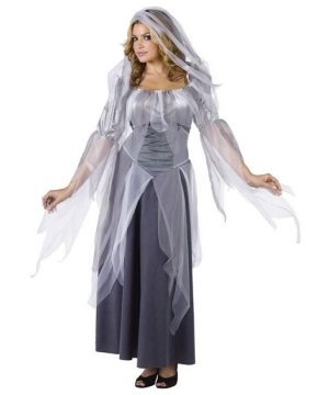 Silver Ghost Women Costume