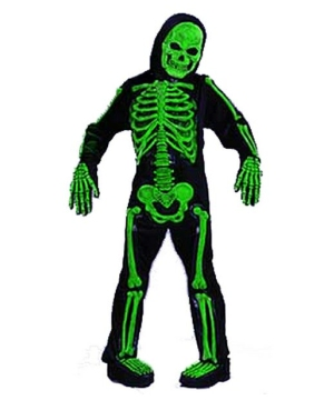Skelebones Costume - Child Costume - Green