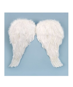 Soft Feather Angel Wings Kids Costume Accessory