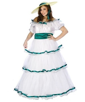 Southern Belle Adult plus size Costume