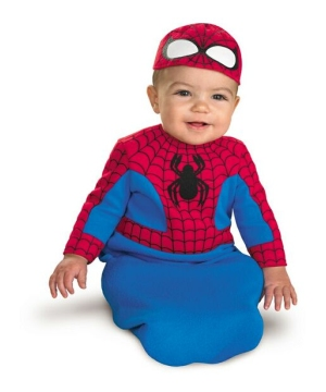 Spiderman Superhero Baby Costume