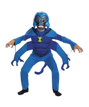 Ben 10 Spider Monkey Boys Costume