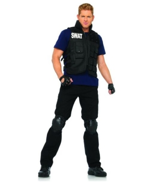 Swat Commander Costume - Adult Costume