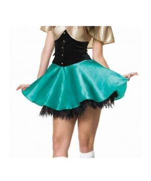 Black Tear Drop Lace Petticoat Adult Accessory