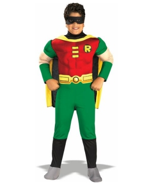 Robin Muscle Kids Costume
