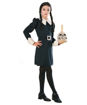 The Addams Family Wednesday Kids Costume