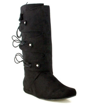 Thomas Black Boots - Adult Shoes