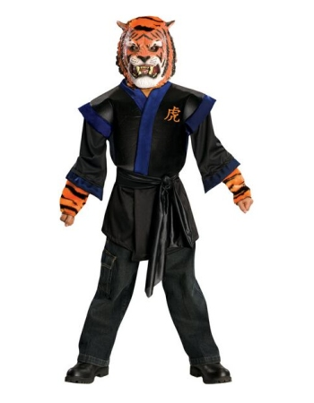 Ninja Tiger Kids Costume