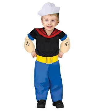Popeye Toddler Boy Costume